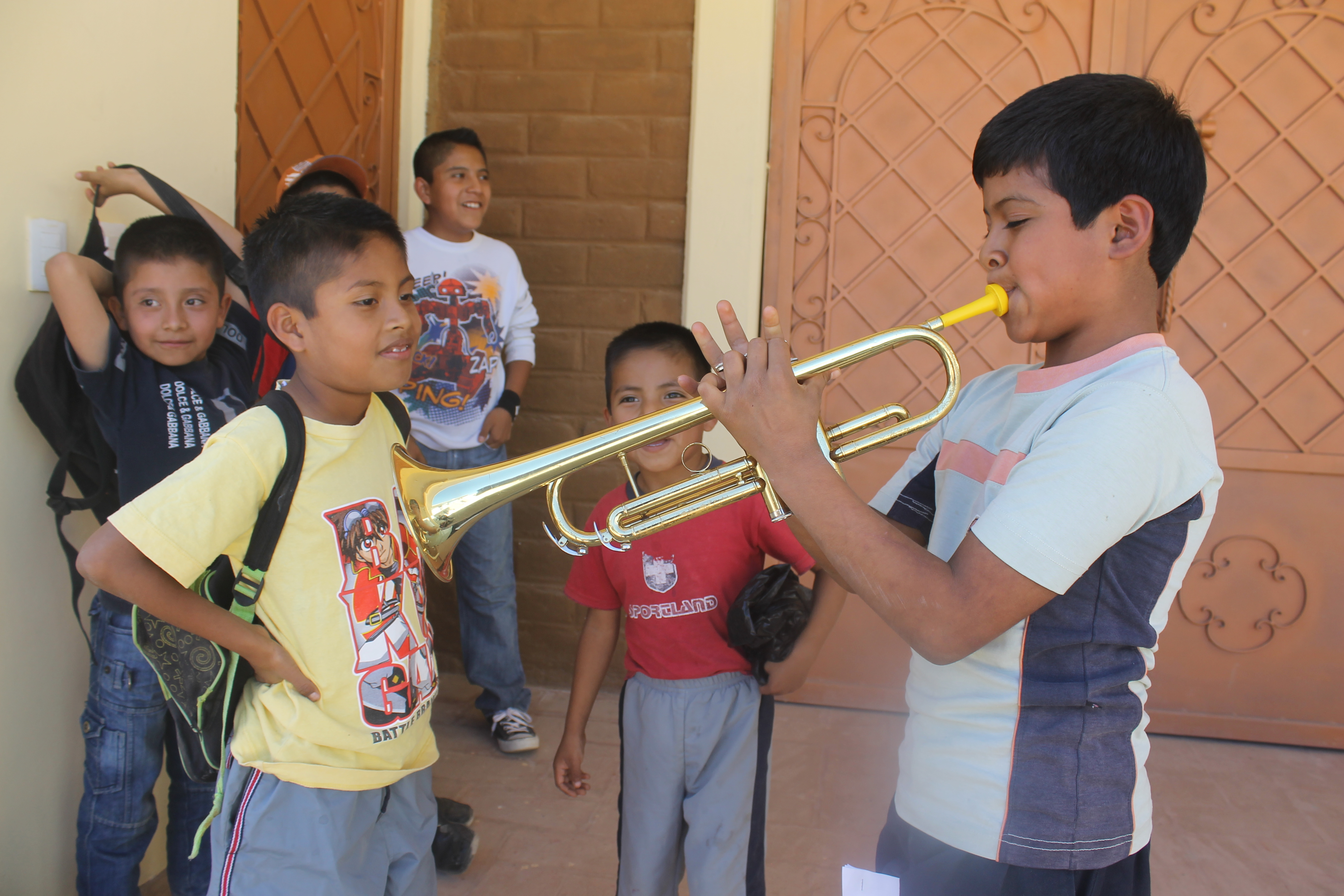 For these kids, music is a source of pride and achievement!